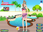 Barbie goes swimming sminkes j�t�kok ingyen