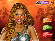 Beyonce Knowles celebrity make up game online j�t�k