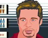 Brad Pitt make up sminkes j�t�kok
