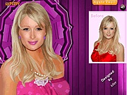 Cute Paris Hilton makeover sminkes j�t�kok