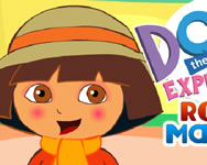 Dora the explorer royal makeup sminkes j�t�kok ingyen