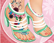 Fabulous foot makeover j�t�k