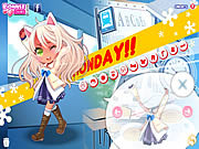 Monday dress up sminkes j�t�kok