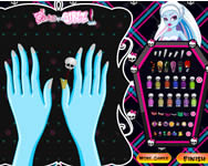 Monster High manicure j�t�k
