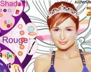 Paris Hilton make up sminkes j�t�kok ingyen