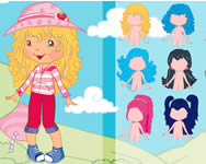 Strawberry Shortcake Dressup sminkes j�t�kok ingyen